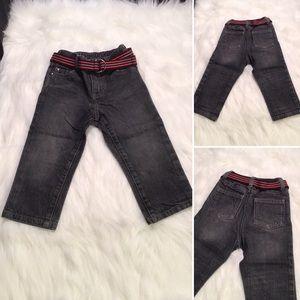 Koala Kids - Sz 18M - jeans w/ belt - button & zip
